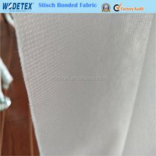 Polyester cross stitch non woven fabric