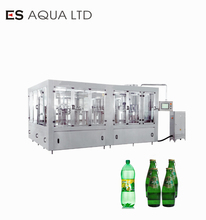 CE approved Carbonated Soft Drinks filling machine /Gas drink bottling machine / Gas Drinks production line