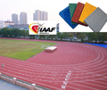 Huadongtrack, 2014 Incheon Asia Game Supplier, Prefabricated Rubber Running Track, Rubber Flooring For Running Track