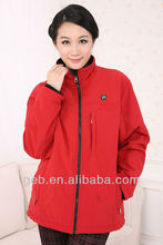 The newest fashionable Electric Heated Jacket in winter with 6 X 1.5V AA alkaline batteries
