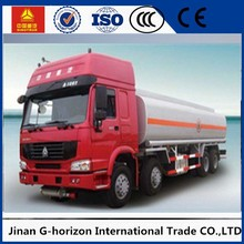 China howo 6x4 20000L fuel tank truck petroleum oil tanker truck for sale