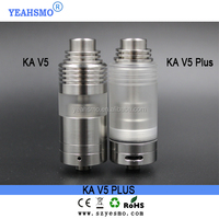 2015 yeahsmo KA V5 plus rta atomizer /caiman xl /ataman v2 rda clone 1:1 on sale