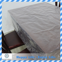 Waterproof Wipe Clean Peva Material Hard Plastic Transparent Table Cover