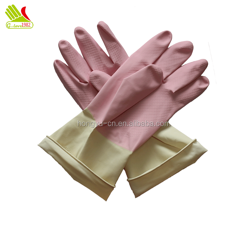 dishwashing gloves for sensitive skin glam rubber latex gloves for cooking