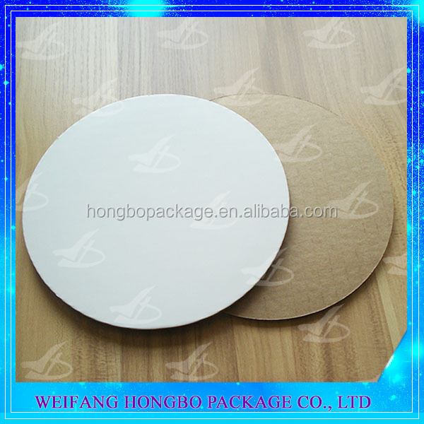 custom cake boards uncoated pizza cake circles