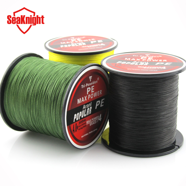 100% Coated 300 meters <strong>PE</strong> Braided Fishing Line