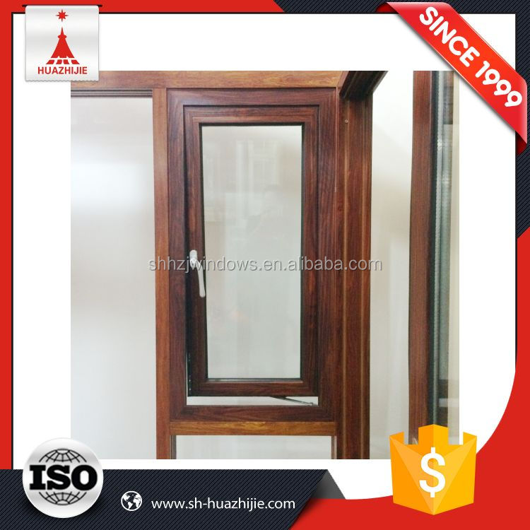 Wholesale top quality aluminum frame double hung window