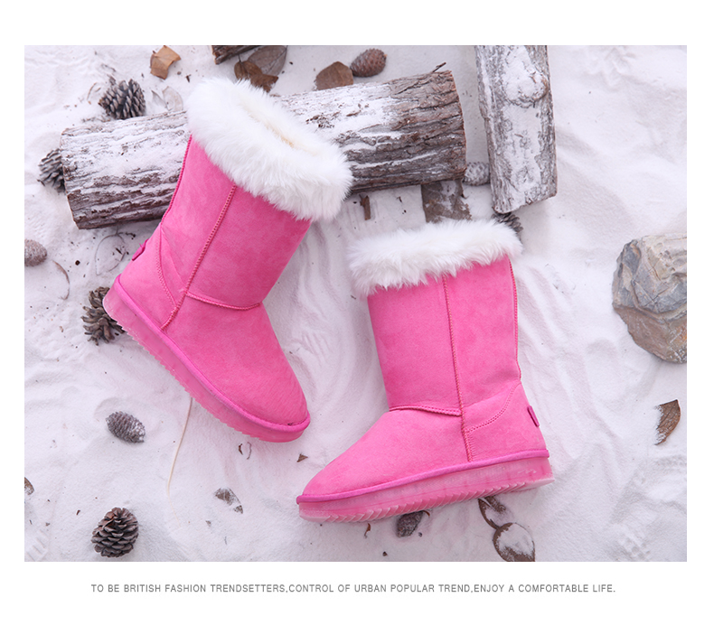 Fancy Winter Custom the fluffy Women 2017 Snow <strong>Boot</strong> For Girls