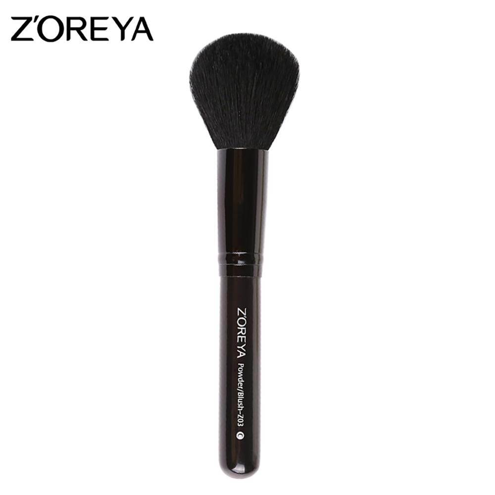 Private label zoreya beauty cosmetics high quality synthetic hair powder brush