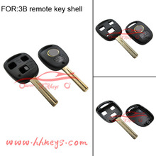 Factory Hot Sells car key transponder chip Blank key card for 3 button remote Replacement Lexus 4C Key