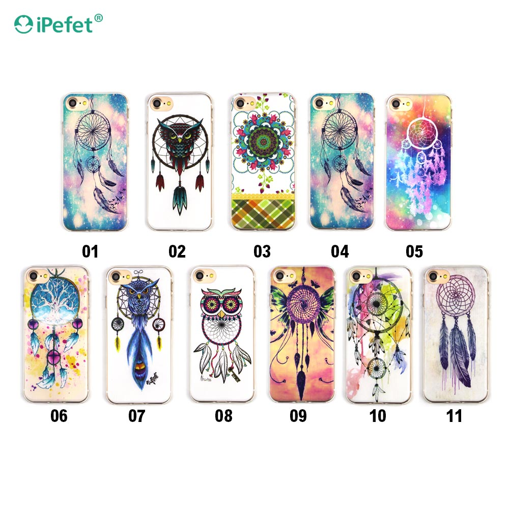 Hot New Outdoor Popular Ultra slim thin animal silicone phone case for iphone 7