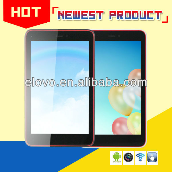 latest 7 inch quad core mtk6589 mid tablet with 3G GPS Bluetooth FM camera 5MP