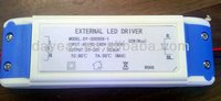 30W 350ma 600ma Constant Current waterproof led driver ip67 With CE ROHS
