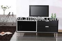 wooden TV rack