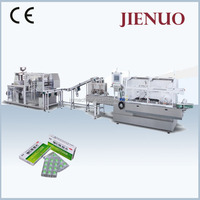 Jienuo High Speed Blister and Cartoning Machine Line