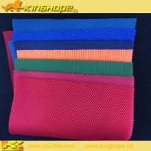 2016 New shoes materials 100% Polyester sandwich mesh fabric for shoes fabric