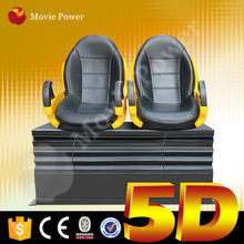 Comfortable home theatre 4d 5d 6d glasses hot 5d cinema system