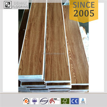 Guaranteed Quality self - stick Vinyl Pvc Flooring tile/with adhesive on plank back