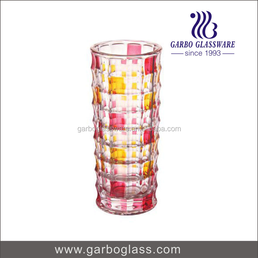 New Design Colored Vase Glass Wholesale