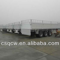 3 Axle Drop Deck Semi Trailer