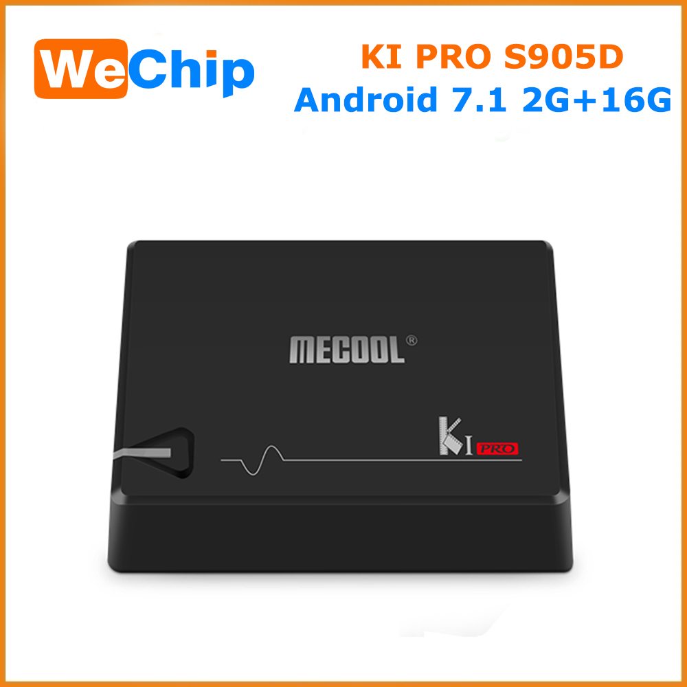 "7.0"" android smart tv box S905D Android 7.1 KI PRO wechip Bluetooth 4.1"