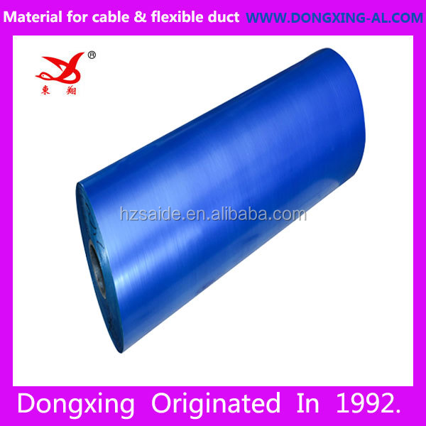 big rolls double Sided bonded self adhesive polyester film tape jumbo roll polyester EMAA film for coxial cable