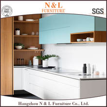 40 inch Industrial display seaworthy packed bi color baked enamel kitchen cabinets finest quality