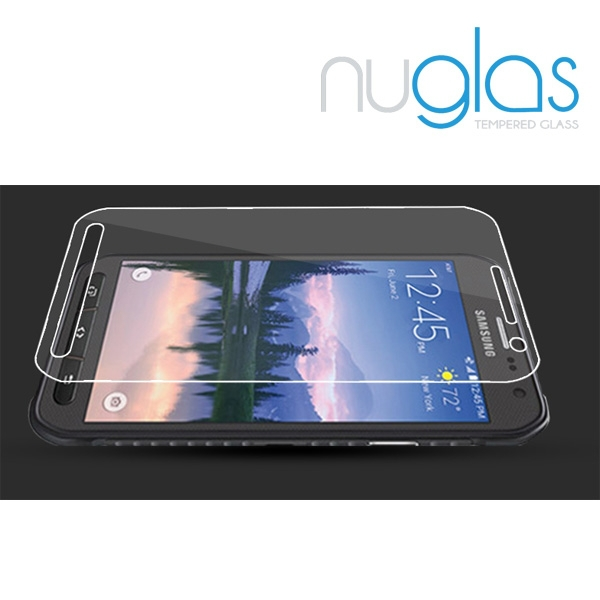 Nuglas Professional Clear LCD Tempered Glass Screen Guard Protector for Samsung Galaxy S6 Active