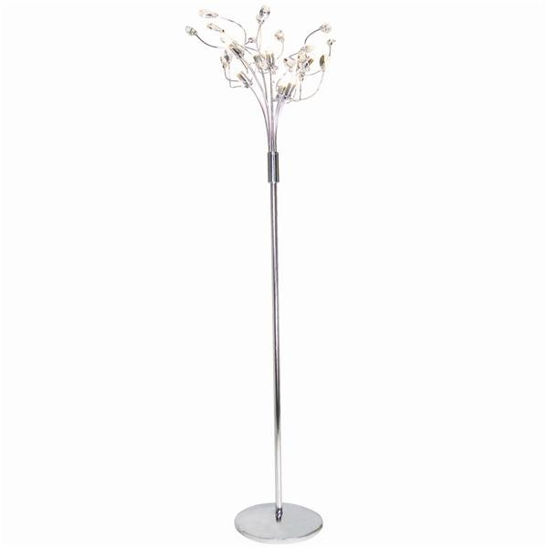 Crystal stand lamp