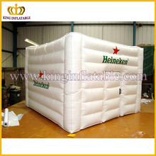 Inflatable type cube tent, inflatable room, inflatable house