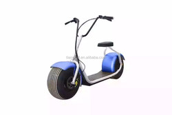 2016 2 big wheel citycoco 800-1000W electric scooter motorcycle Harley style