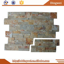 natural stone wall decoration brick slate stone for outdoor