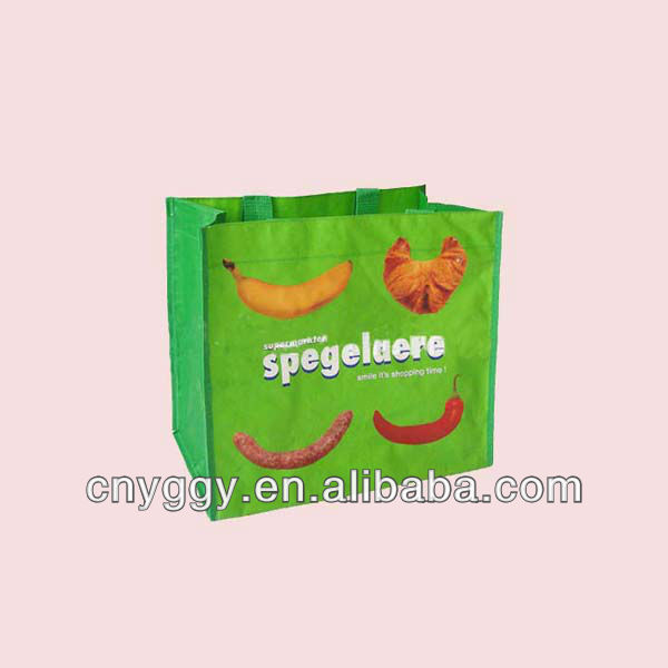 newest personalised promotional non-woven shopping bag