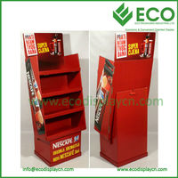 Paper Counter Gloves Display Stand ,Glove Floor Corrugated Cardboard Counter Display