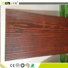 600x2400mm Painted wood grain fiber cement wall siding panel wall board