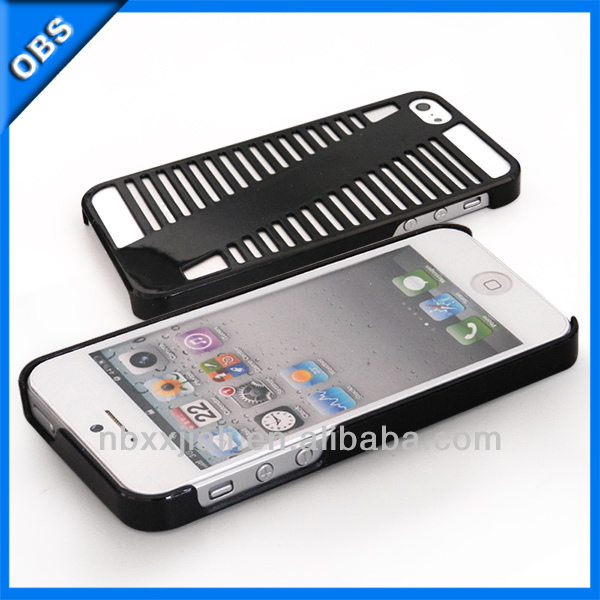 cheaper terraced shape design PC mobile phone case for iphone5 iphone5s iphone4s (OBS-M6039)