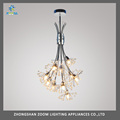 Modern design crystal ball decorative pendant lamp for restaurant, modern home living room