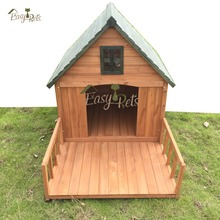 High quality cheap price wooden dog house cage wholesale