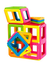 Hot Selling Magnet Connecting Magnetic Tiles Building Blocks Toy For Kids