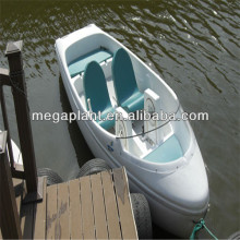 high quality Foot pedal boat with canopy for sale