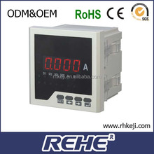 2014 newest three phase four lines single phase dc electric current meter