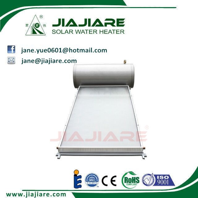 Freestanding 150L Compact Pressurized Flat plate Solar Water Heater