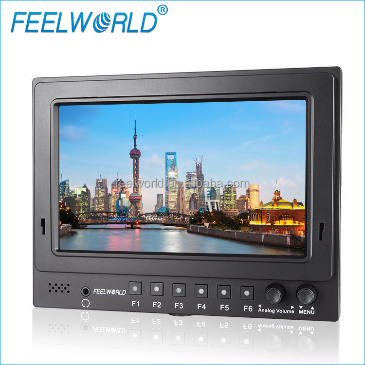 Full HD Camera 7 inch HDMI SDI LCD Field display 1080p monitor with Advanced Functions