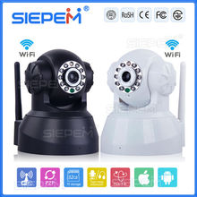 S5001Y-BW Black/White New product smart home ip wireless security camera Robot 720PH.264 two-way audio