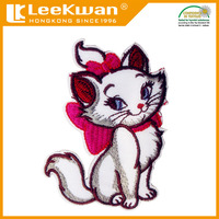 Cat lovely embroidered applique