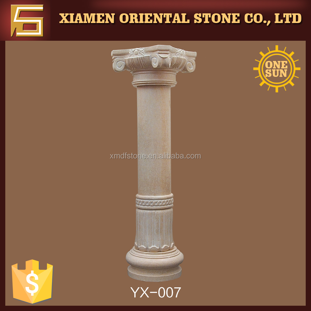 cultured column molds and roman decorative pillar for sale