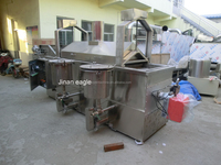 Best price potato chips / French fries / peanuts continuous fryer making plants in china