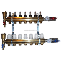 Brass Manifold With Flowmeter