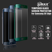 Factory Price !! 0.26mm 9H Anti-Fingerprint Best Tempered Glass Screen Guard for Samsung galaxy s6 edge