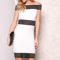 High Quality OEM Fashion Dress Casual White Dresses Women Wear